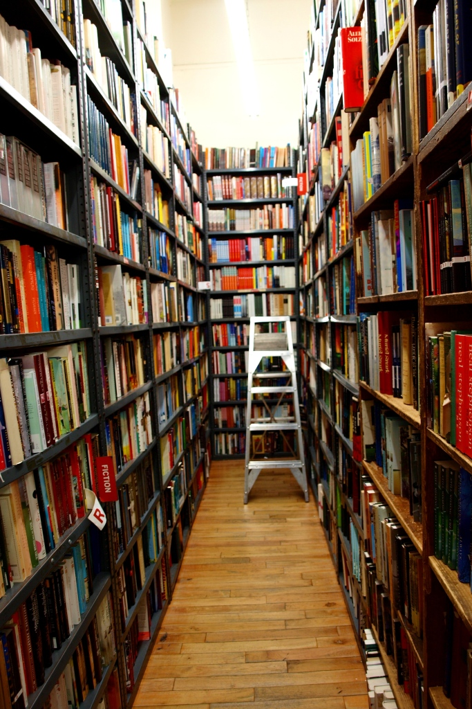 Inside the Strand Bookstore