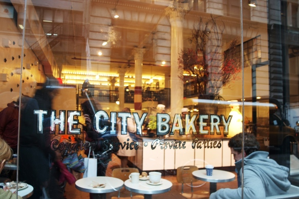 front of bakery