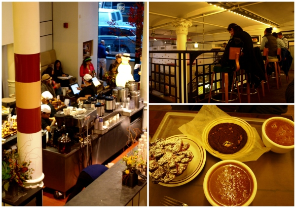 Inside City Bakery coffeeshop