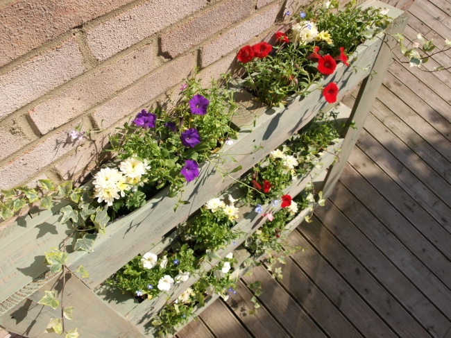 DIY Pallet Garden - Anna International