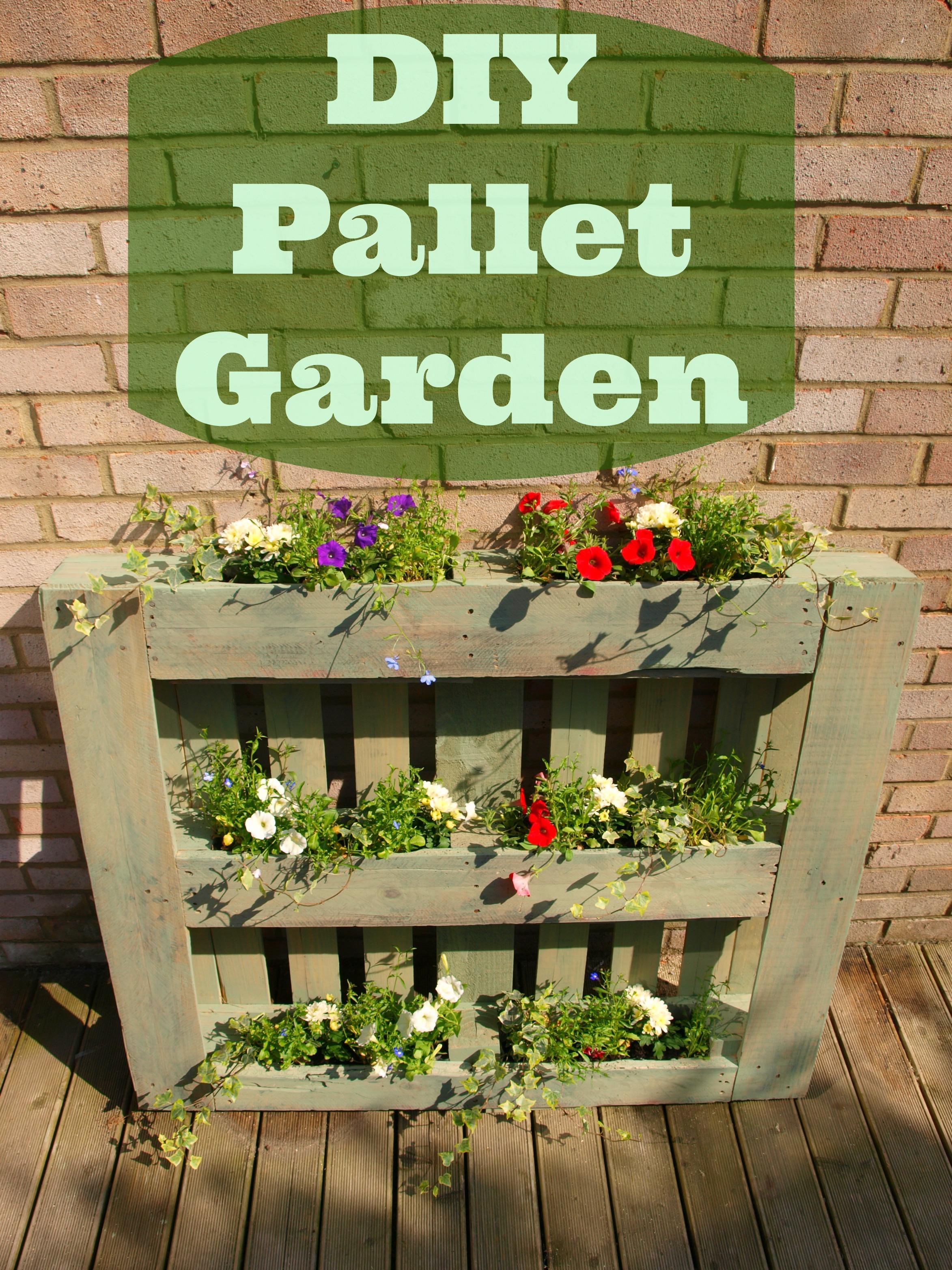 DIY Pallet Garden Anna International