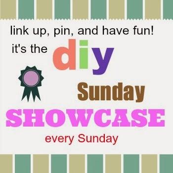 Sunday DIY showcase button