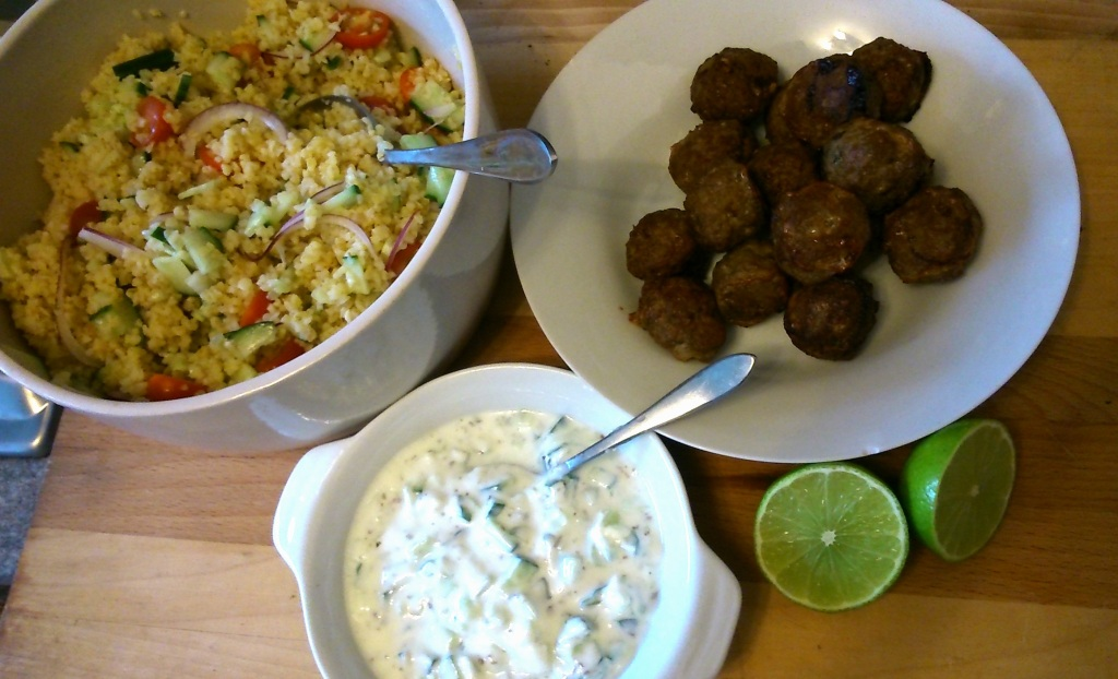 Midweek Meals: Moroccan Lamb Meatballs  Anna International