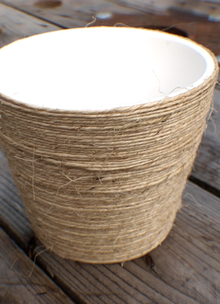 DIY Twine Succulent Pot | Anna International
