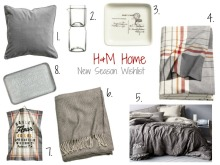 H and M Home Wishlist | Anna International