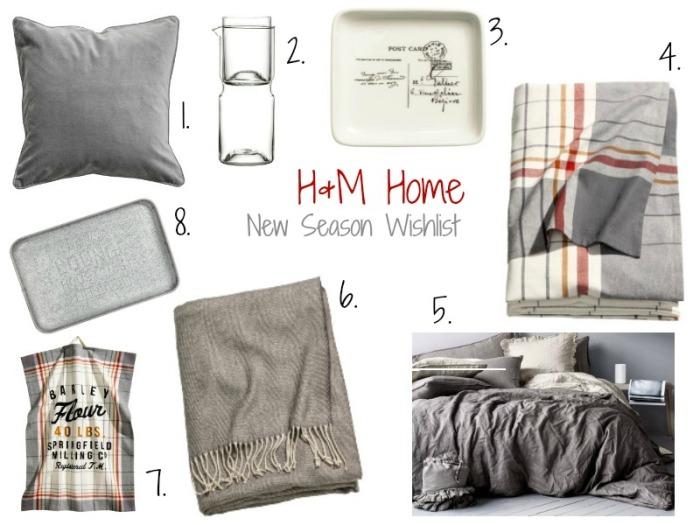 H and M Home Wishlist | Anna International