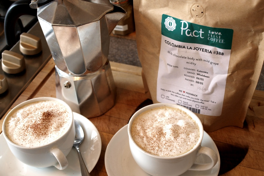 Pact Coffee Review | Anna International