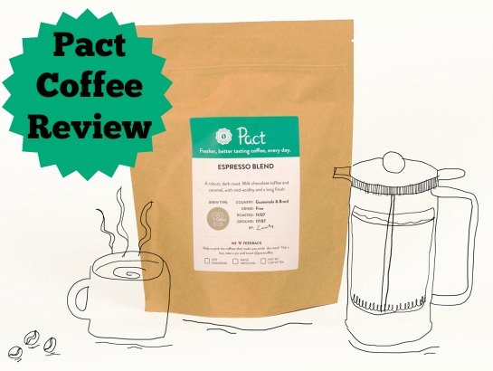 Pact Coffee Review |Anna International