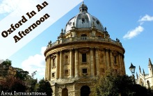 Afternoon in Oxford | Anna International