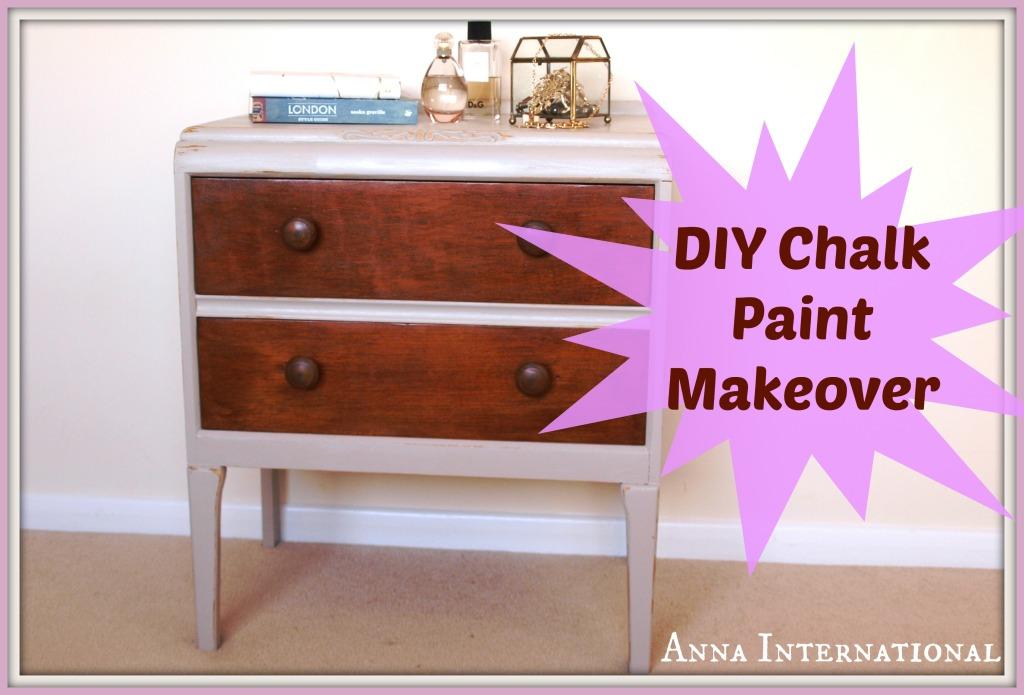DIY Chalk Paint Makeover   Anna International