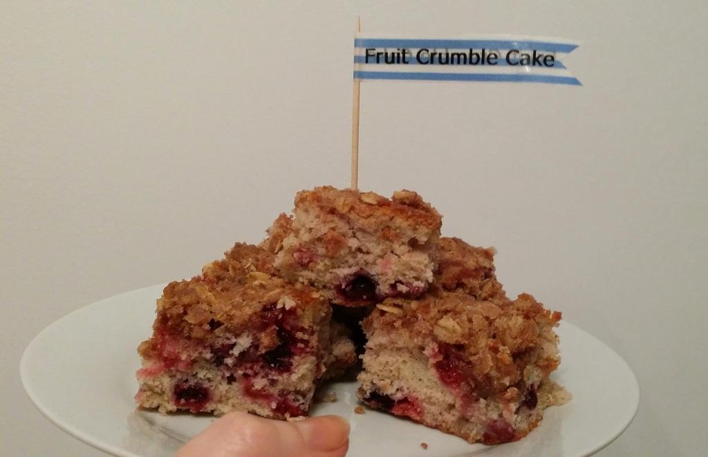 Summer Fruit Crumble Cake   Anna International