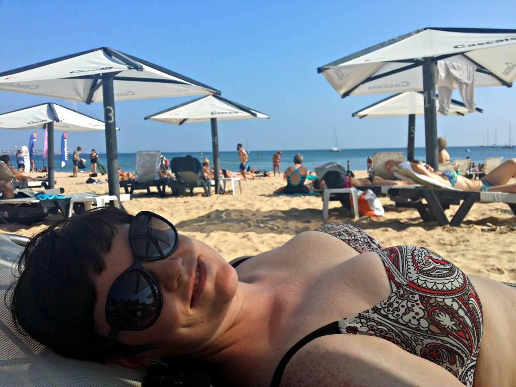 On the beach   Anna International
