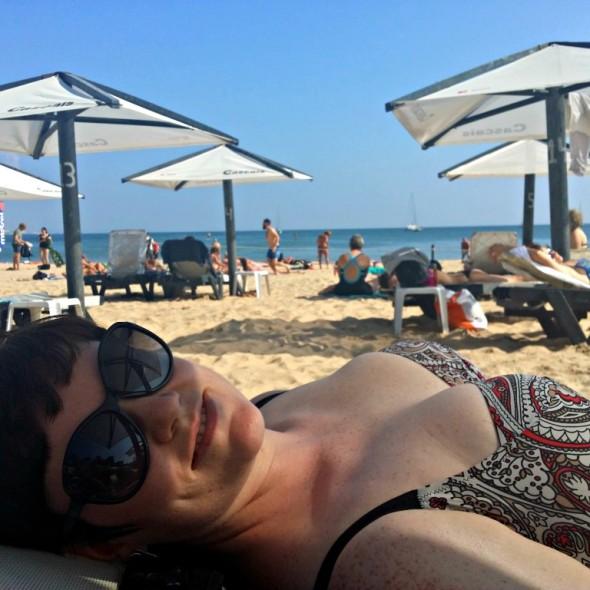 On the beach | Anna International