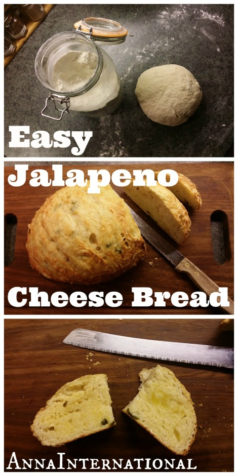 Easy Jalapeno Cheese Bread | Anna International