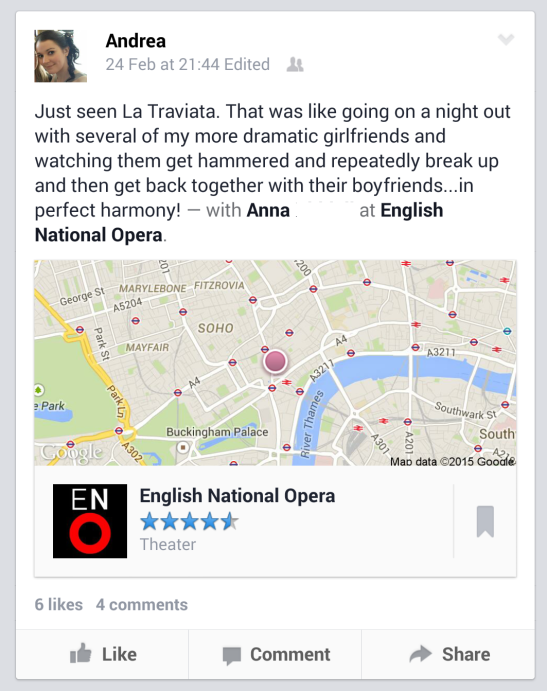 La Traviata at the English National Opera Review | Anna International