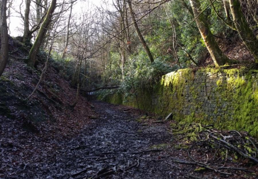 Abandoned Places: Old Meltham Railway   Anna International