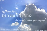Anna International |How to Make Big Decisions