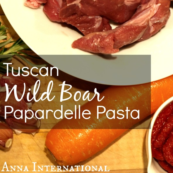 Wild Boar Papardelle | Anna International