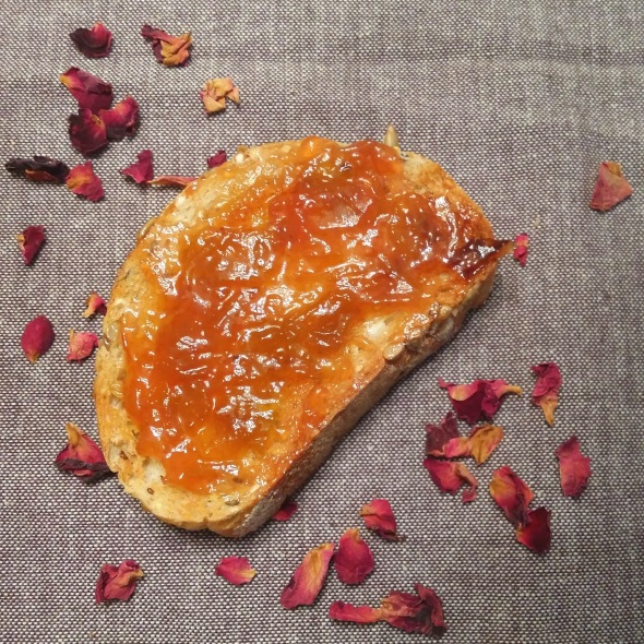 Rhubarb and Rose Jam | Anna International