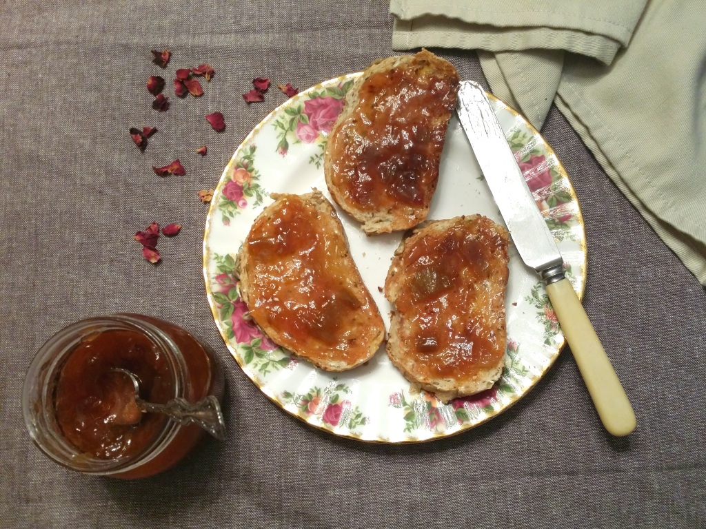Rhubarb and Rose Jam | Anna International