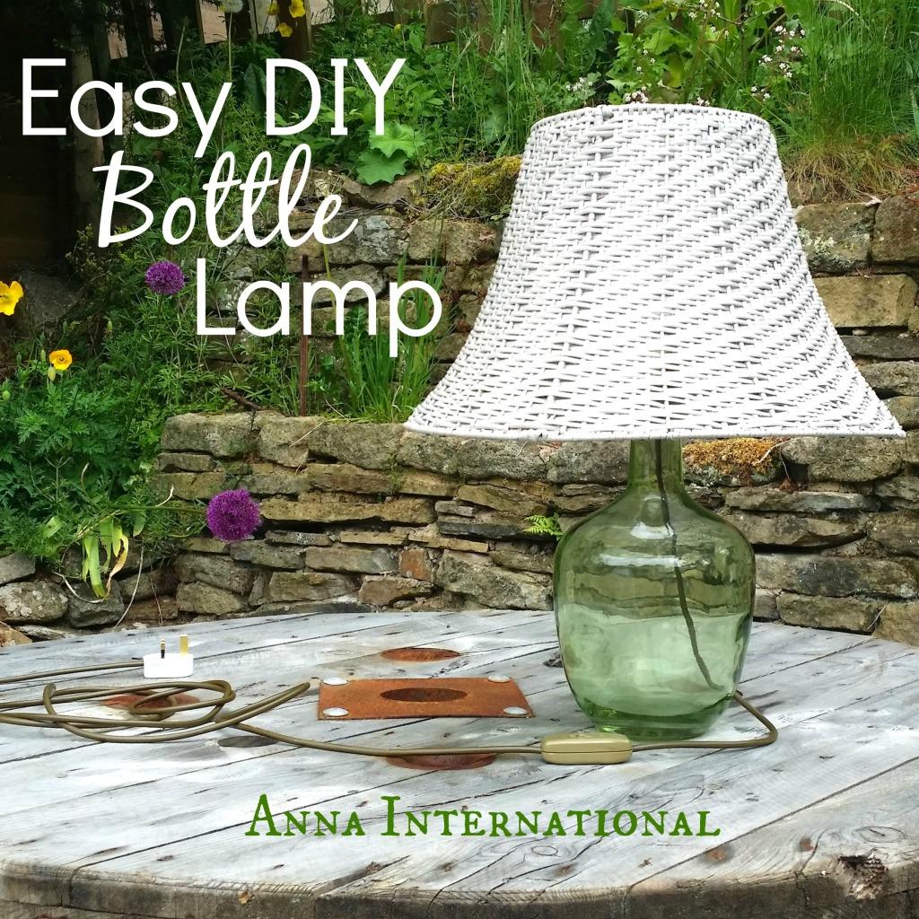 Easy DIY Bottle Lamp   Anna International