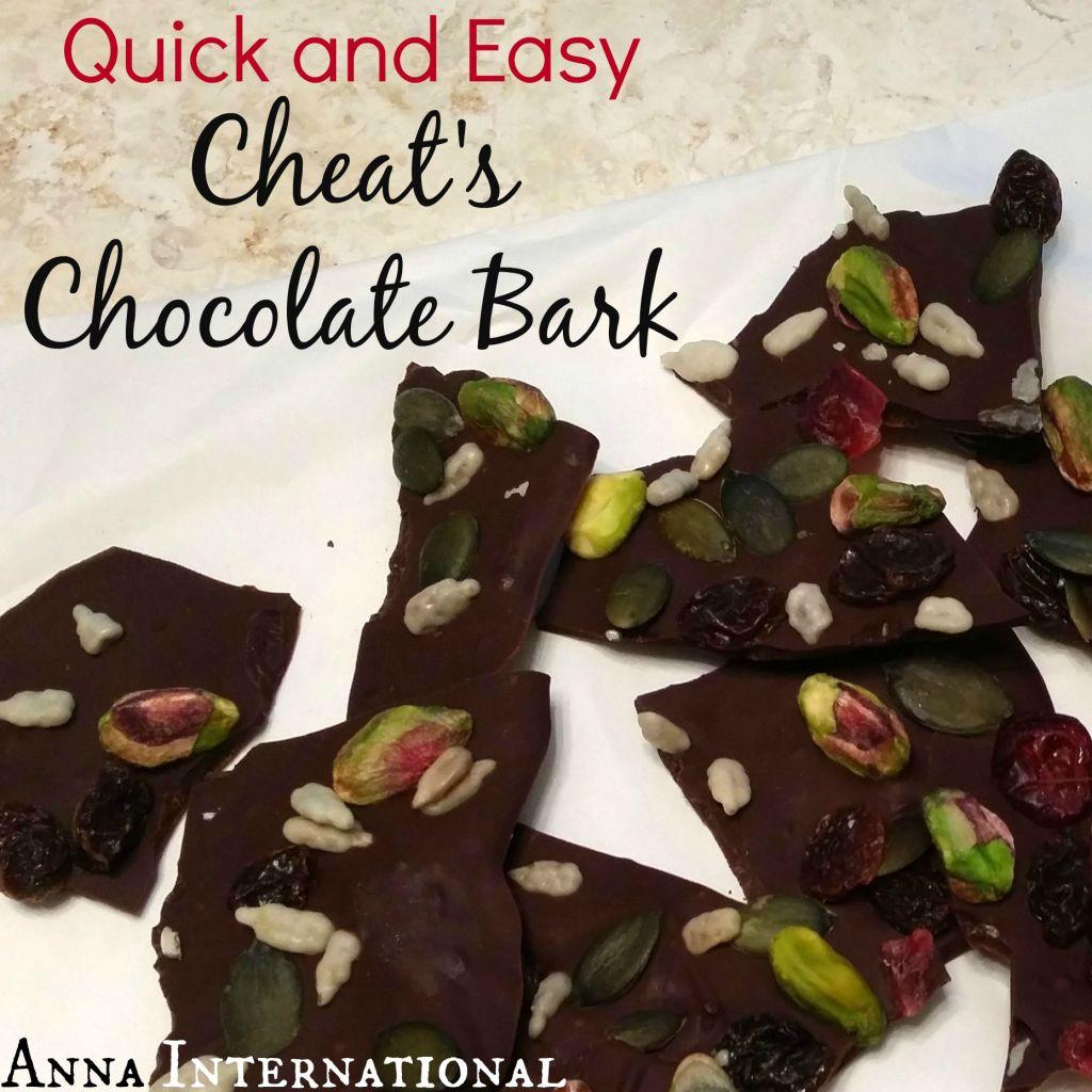 Cheat's Chocolate Bark   Anna International